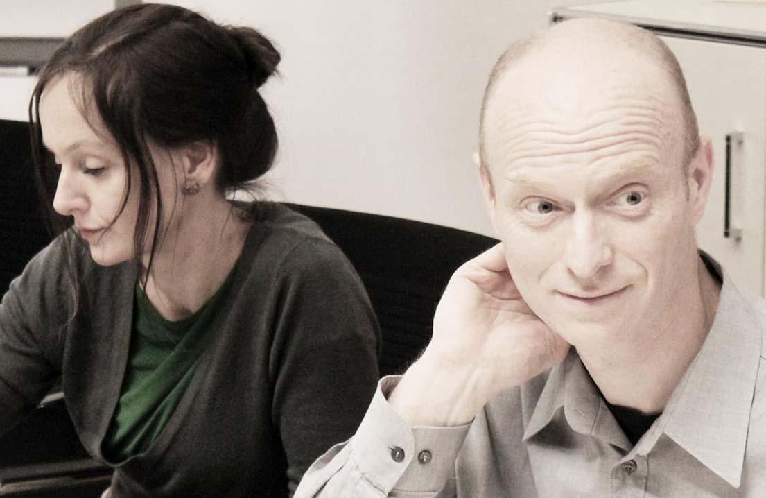 Alexandra Beulke (Art Directorin, Berlin) und Ulrich Lindemann (Liedeco GmbH, Uder).