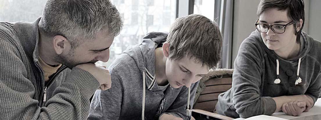 Aurel Cornea, Merle Sommer und Britta Wendland. D-2013-11-27