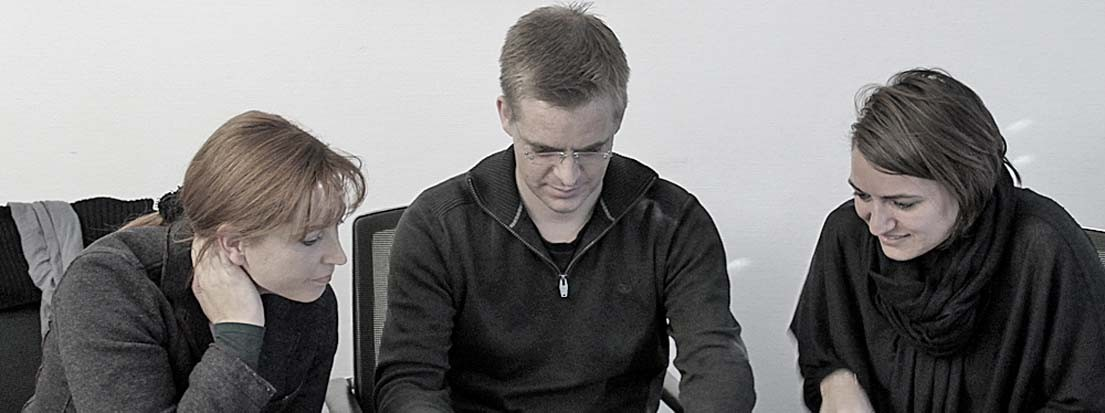 Berit Erlbacher, Hans Jörg Rapp und Anja Heinkele. S-2013-11-25