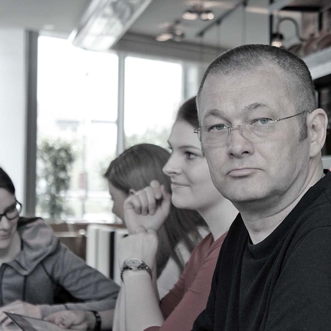 Caroline Spreckelsen (Grips Design GmbH, Wetzlar) und Wolfgang Beinert (Atelier Beinert, Berlin).