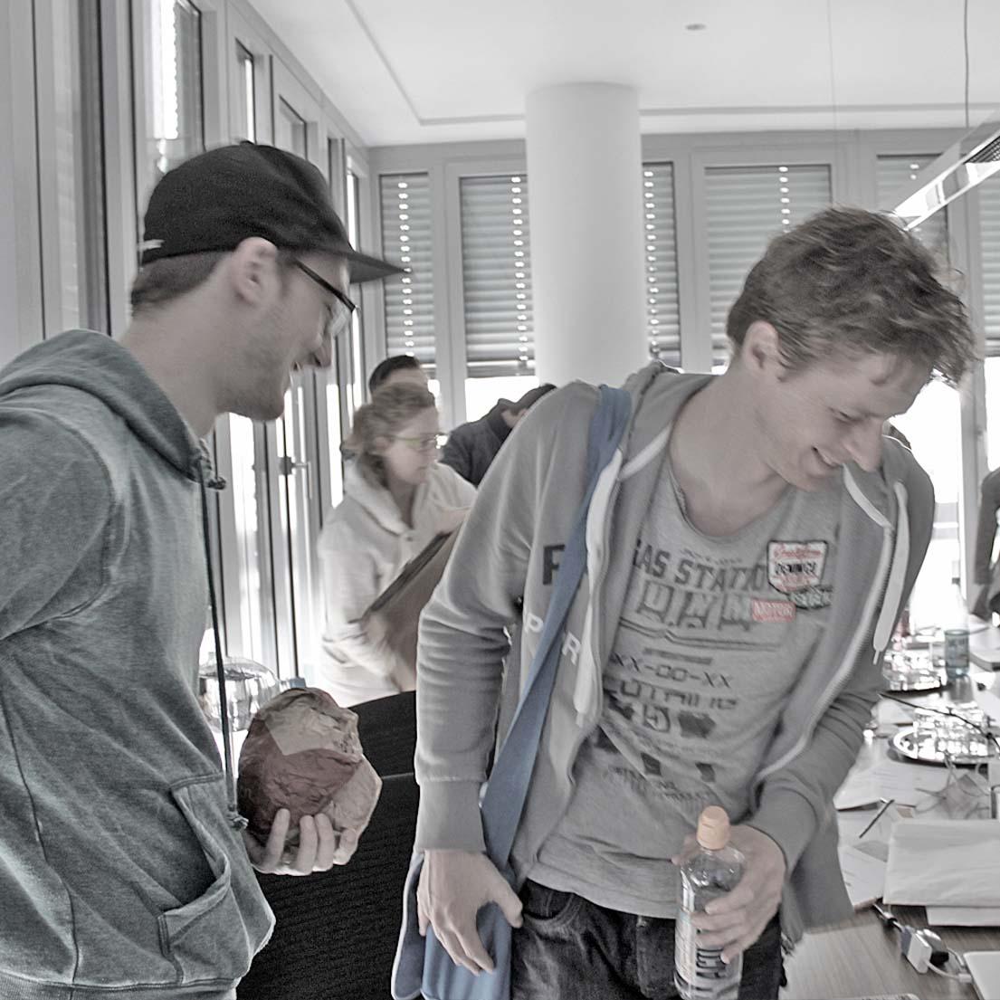 Christian Behrens und Lars Reinartz, K-2013-04-17