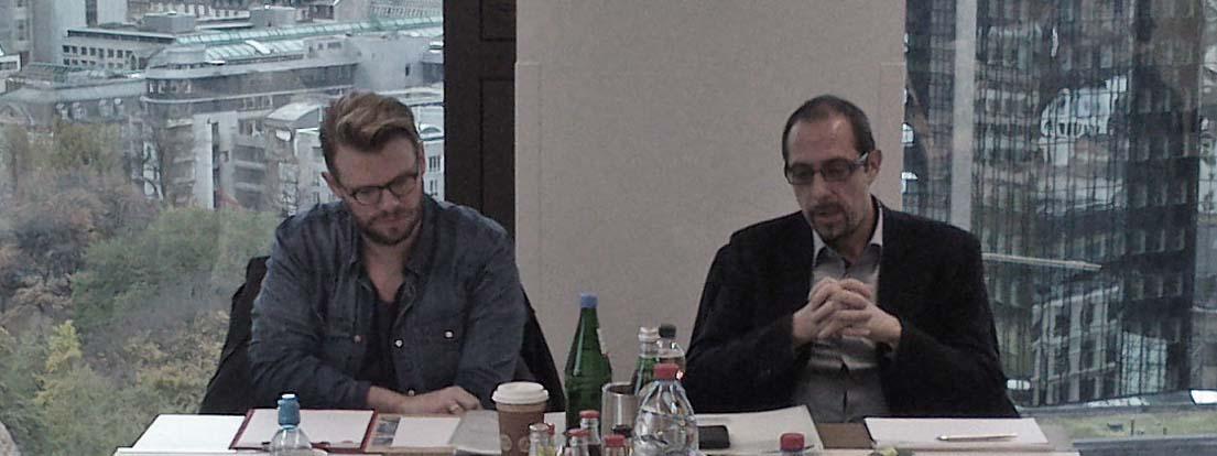 Daniel Ruths und Joachim Ehmer, F-2013-11-08