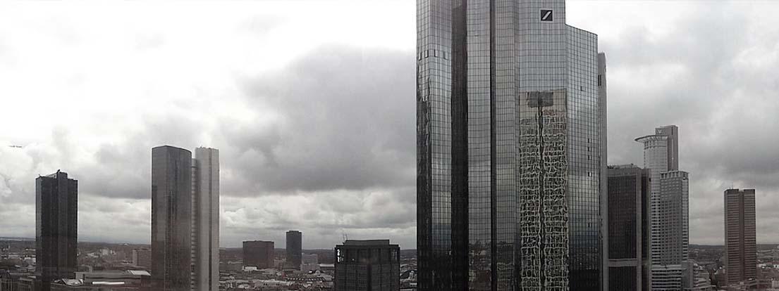 Deutsche Bank Türme in Frankfurt, F-2013-11-08