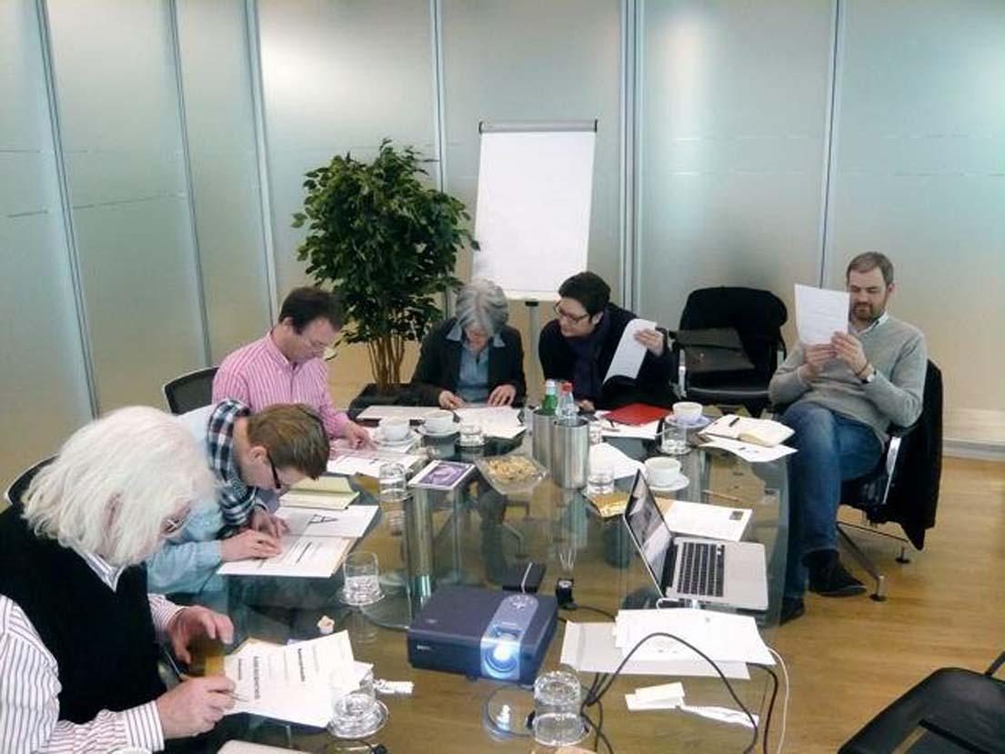Emanuel Rinne (Euroweb Internet GmbH, Düsseldorf), Armin Zimmer (Deutsche Telekom Training GmbH, Bonn), Christian Fester, AGD (CONTEX Agentur für Werbung, Köln), Claudia Moseler, AGD (cmh werbeagentur GmbH & Co. KG, Ahlen), Sylke Lützenkirchen, AGD (Designbüro Lützenkirchen, Velbert) und Alexander von Lengerke, AGD (Kommunikationsdesign, Köln).