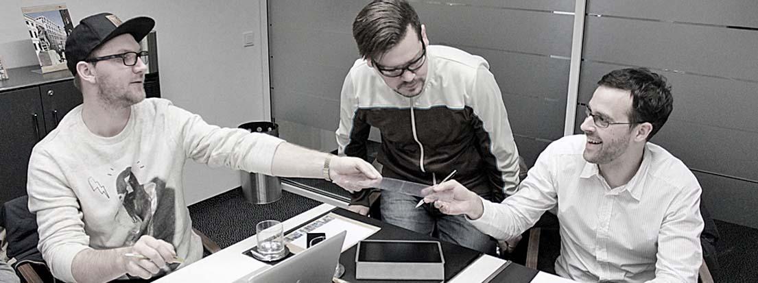 Fabian Liehret und Nando Dietz, nandodesign GmbH, Nürnberg.