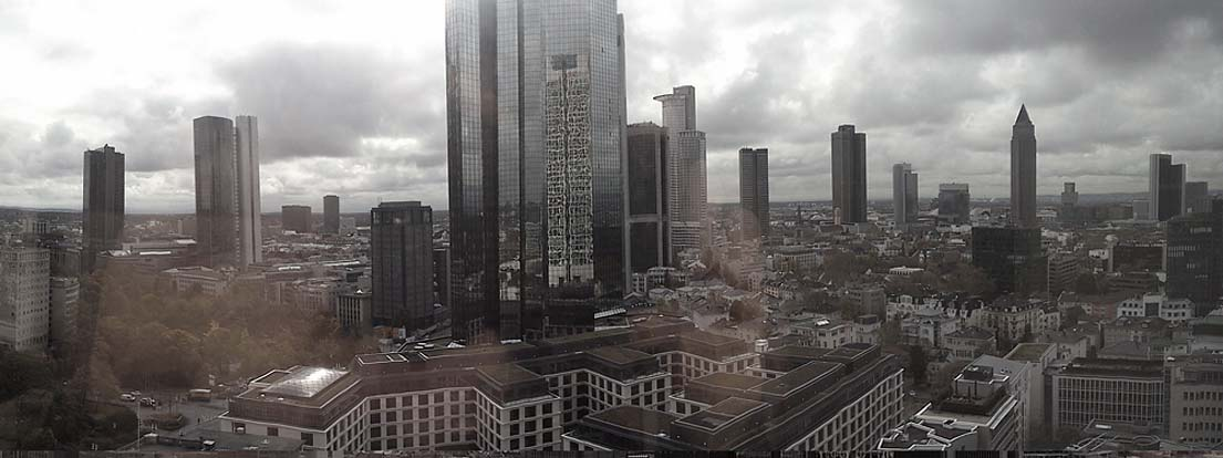 Wolkenkratzer in Frankfurt am Main, F-2013-11-08