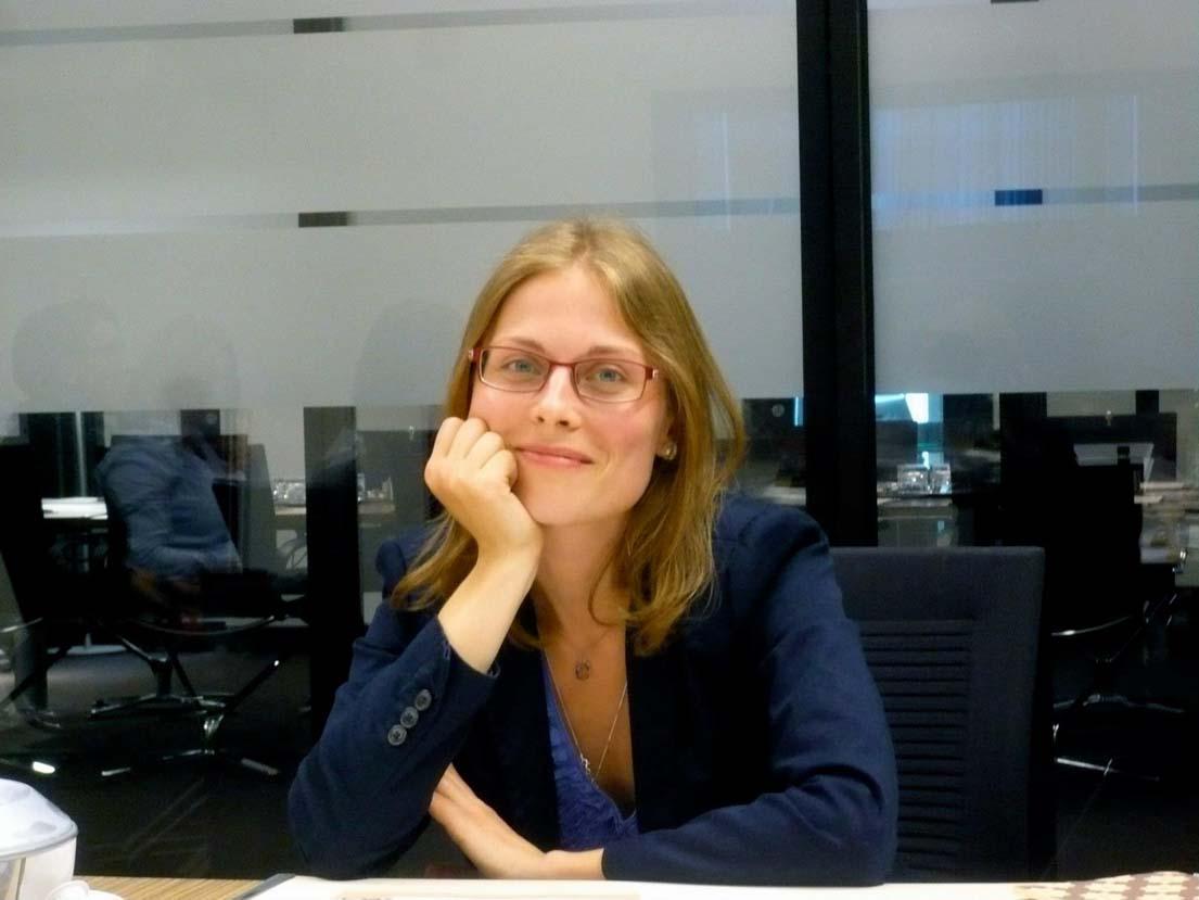 Isabel Kirsche (Designerin, Dresden).