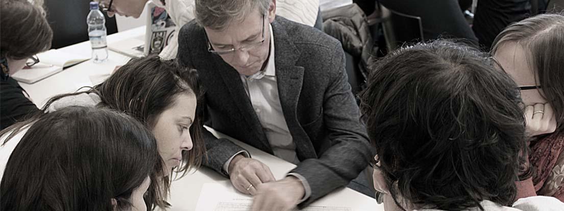 Katharina Berlakovich, RABOLD UND CO., Oberwart, und Viktor Plamenik, Dozent für Typografie, Graz.