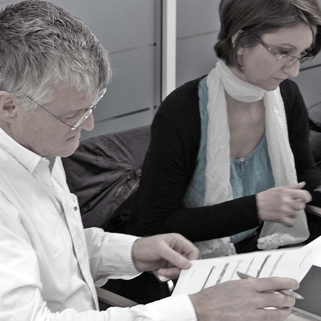 Konstantin Kern, AGD (Kern Design, München) und Christina Gebauer-Bremer (Wort & Bild Verlag GmbH, Baierbrunn).