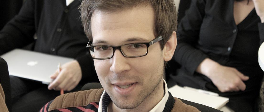 Lukas Musilek (Grafikdesigner, Passau).