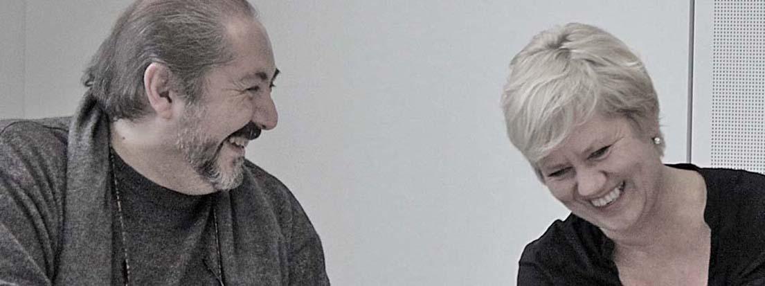 Nurhan Karacak und Heike Kircher. D-2013-11-27