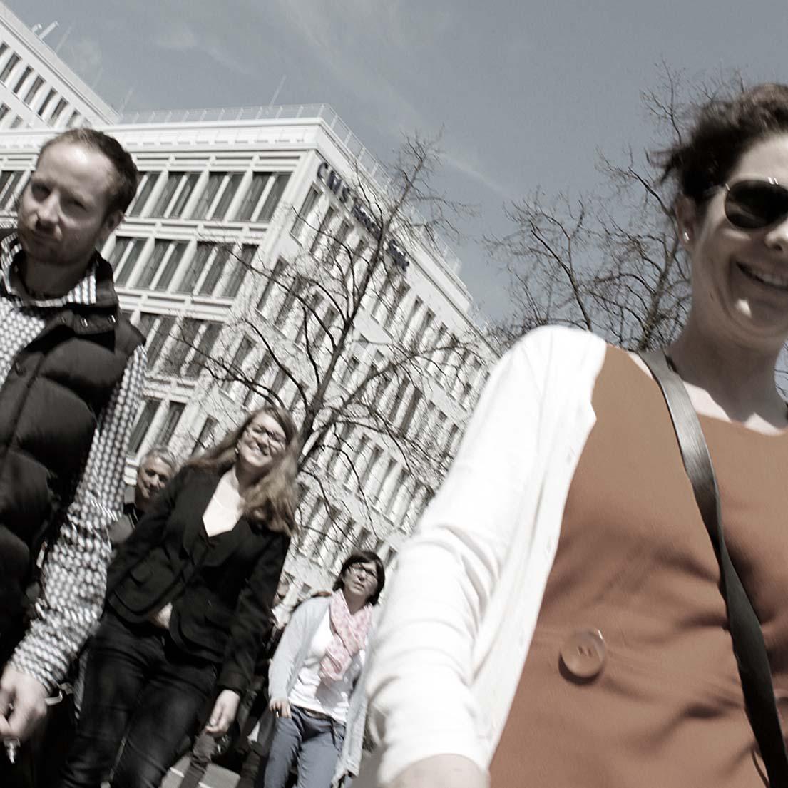 Patrick Bahr (Columbus Interactive GmbH, Ravensburg) und Julia Netter, AGD (Netter Gemacht, Hilpoltstein).