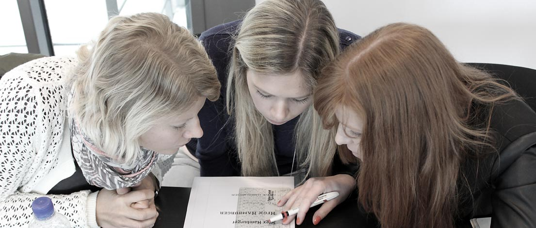 Silke Frehe, Miriam Hellwig und Ilona Pfeifer, K-2014-05-14