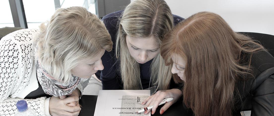 Silke Frehe (mojoki Kommunikationsdesign, Köln), Miriam Hellwig (Gute Botschafter GmbH, Haltern am See) und Ilona Pfeifer (Gute Botschafter GmbH, Haltern am See).