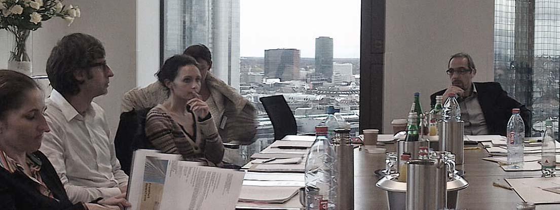Susi Winter (AGD), Designerin und Cristina Thierauf, Intercontact Werbegesellschaft mbH.