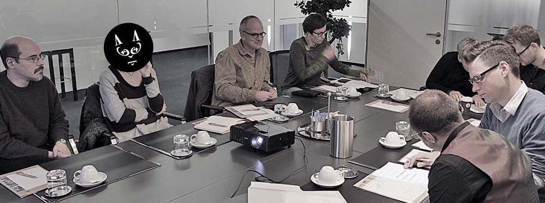 U.a. im Bild: Cajus Zi (Swiss Life Select Deutschland GmbH, Hannover), Stefanie Lauck (Rowohlt Verlag GmbH, Reinbeck), Martin Siegmund (Hanseatisches Wein- und Sekt-Kontor | Hawesko GmbH, Tornesch), Christine Lohmann (Rowohlt Verlag GmbH, Reinbeck), Thomas Bründlinger (2 do Werbeagentur GmbH, Hamburg) und Christian Voigt (2 do Werbeagentur GmbH, Hamburg).