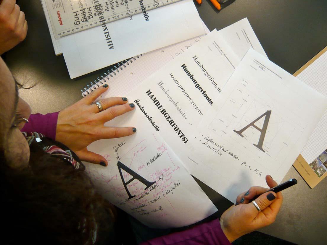 Buchstaben, Schrift, Typografie.
