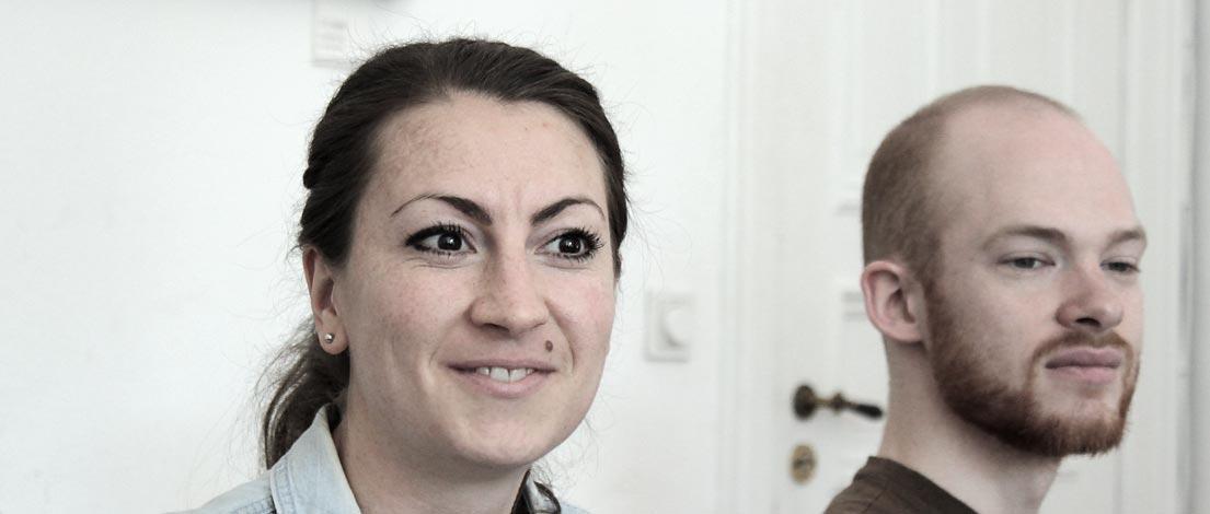 Vanessa Vogler (Volvo Immobilien, Hamburg) und Valentin Franke (northworks Software GmbH, Hamburg).