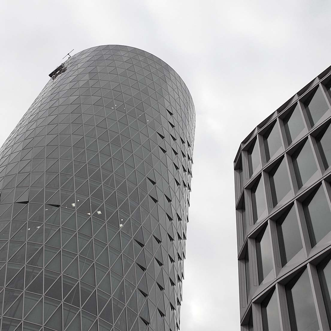 Frankfurt Westhafen Tower.