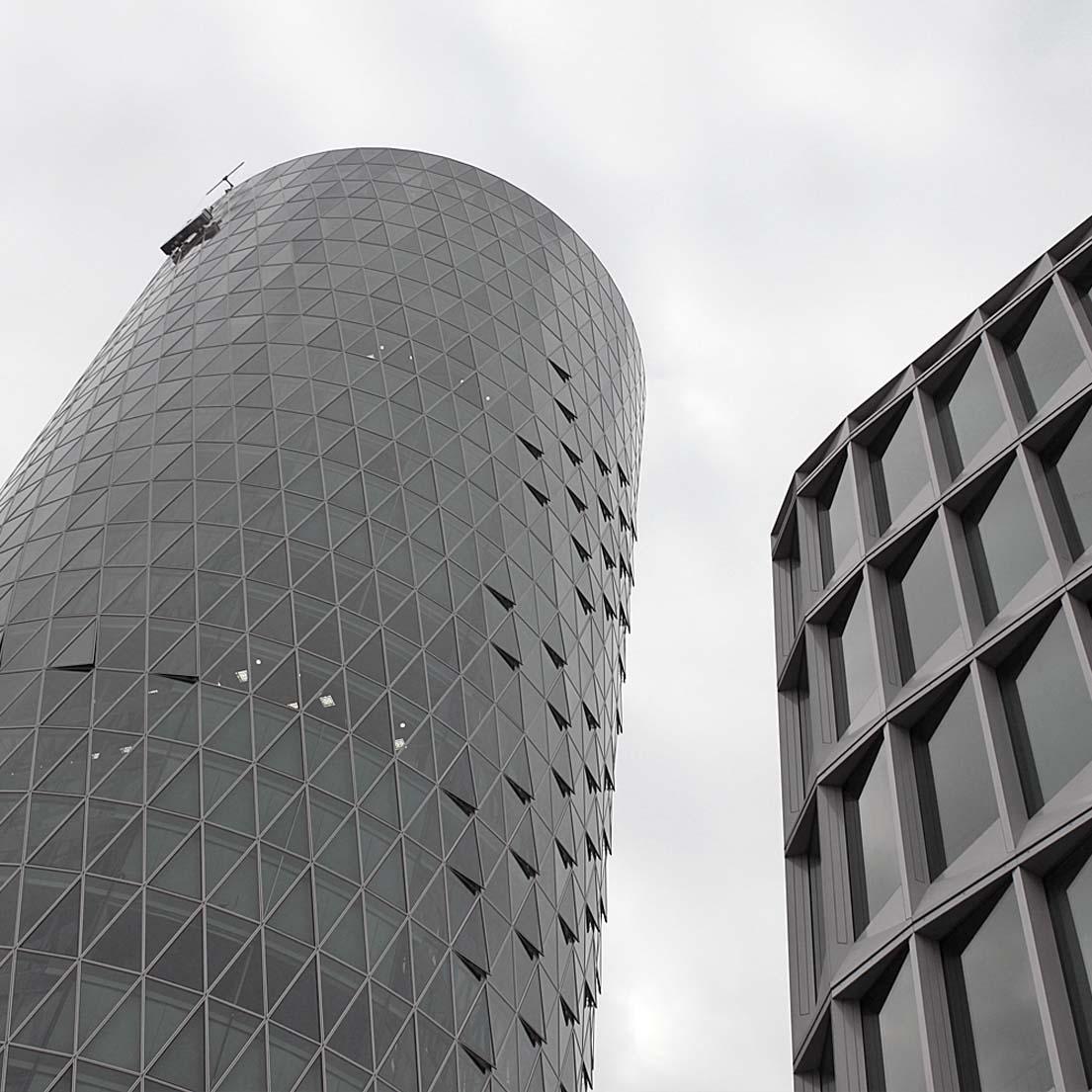 Frankfurt westhafen tower for Kommunikationsdesign frankfurt