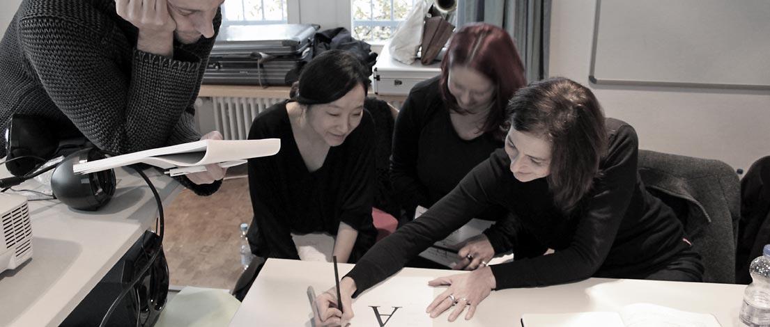 Jan Arnold, Damyeong Yoo-Hartlaub, Pia Cordes und Edith Hemberger, F-2014-11-11
