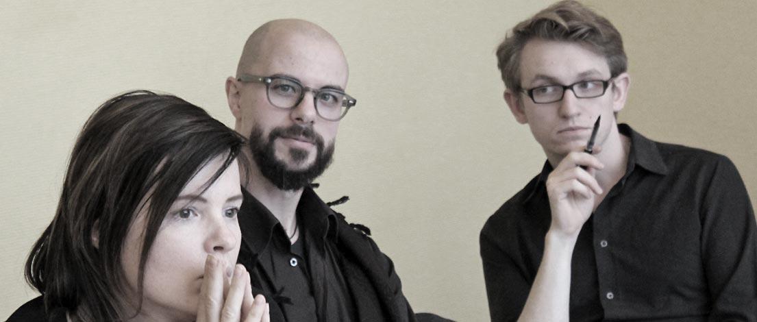 Juliane Trinckauf, Dirk Friedel und Julius Erler, DD-2014-11-24