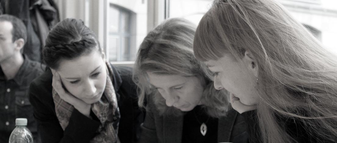 Lisanne Marks (Seibert GmbH Multi-Media Verlag, Dresden) und Celia Domaratius (celiadesign, Erfurt).