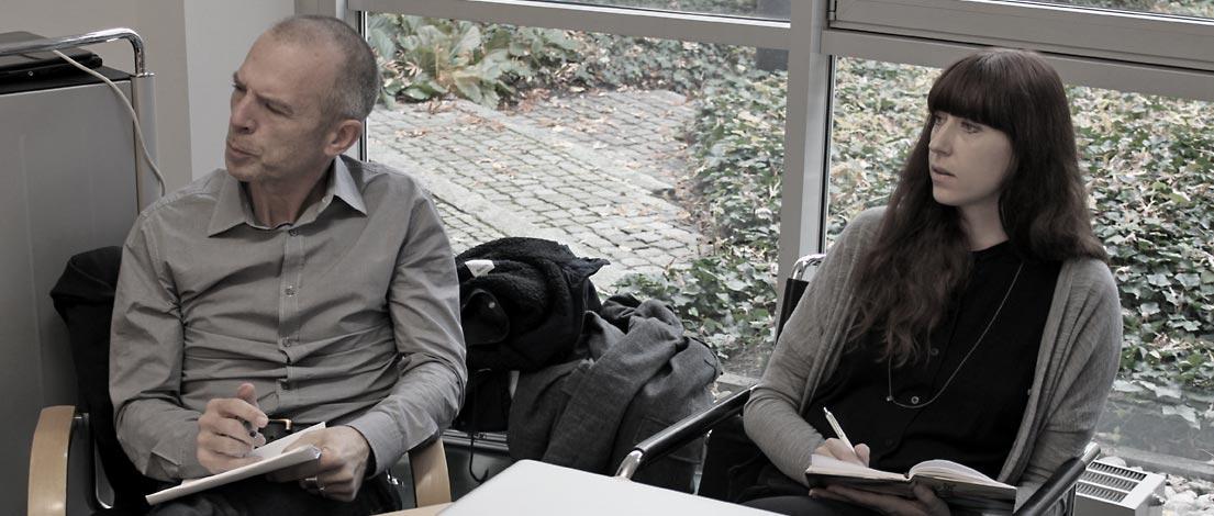Xaver Fischer (kidgmbh WA, Augsburg) und Lucille Mietling (Werbelounge München GmbH, München).