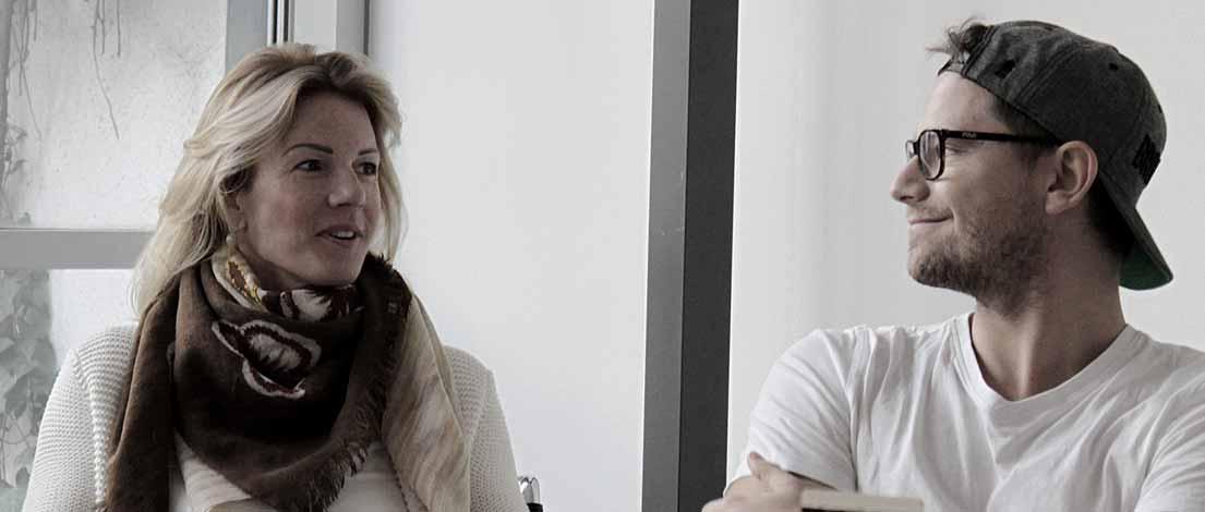 Ulrike Hostehradsky und Benjamin Linke, M-2015-11-13