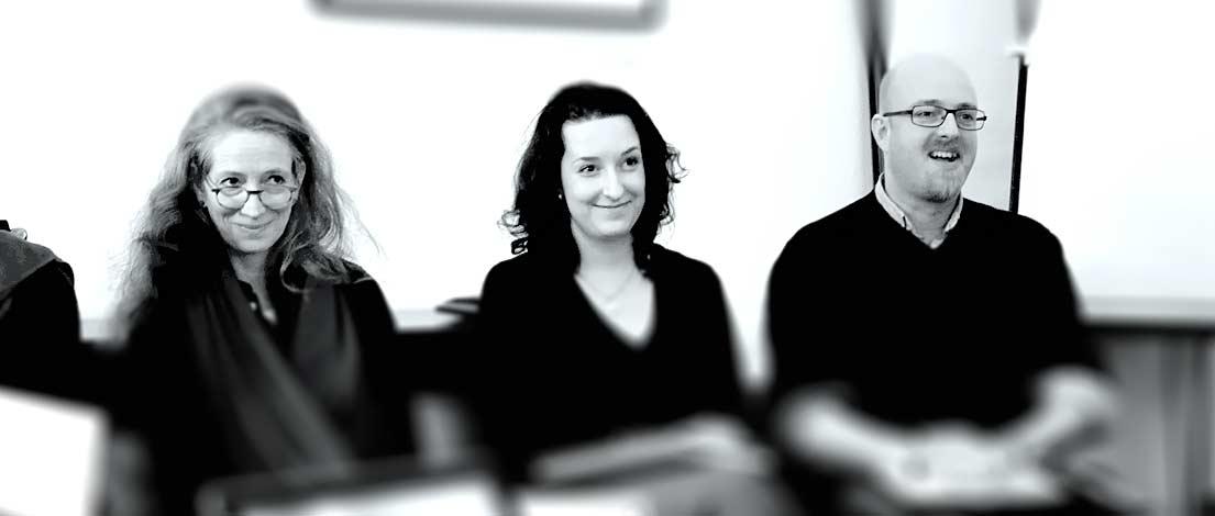 Sophie Bach, Ann-Katrin Schumann und Bjoern Musyal