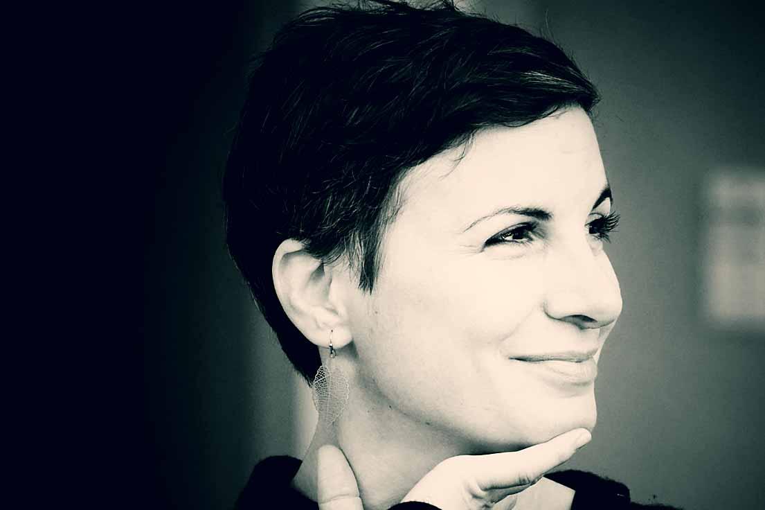Ioanna Gavriilidou (Bauer Programm KG, Hamburg). Typoakademie, Workshop »Schriftmischung« am 19. November 2016 im Atelier Beinert in Berlin. Foto: Wolfgang Beinert, Berlin.