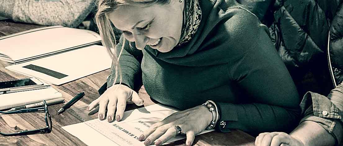 Seminar »Typografie im Grafik- und Kommunikationsdesign« und Workshop »Schriftmischung« 23.–24.11.2019 in Berlin (10)