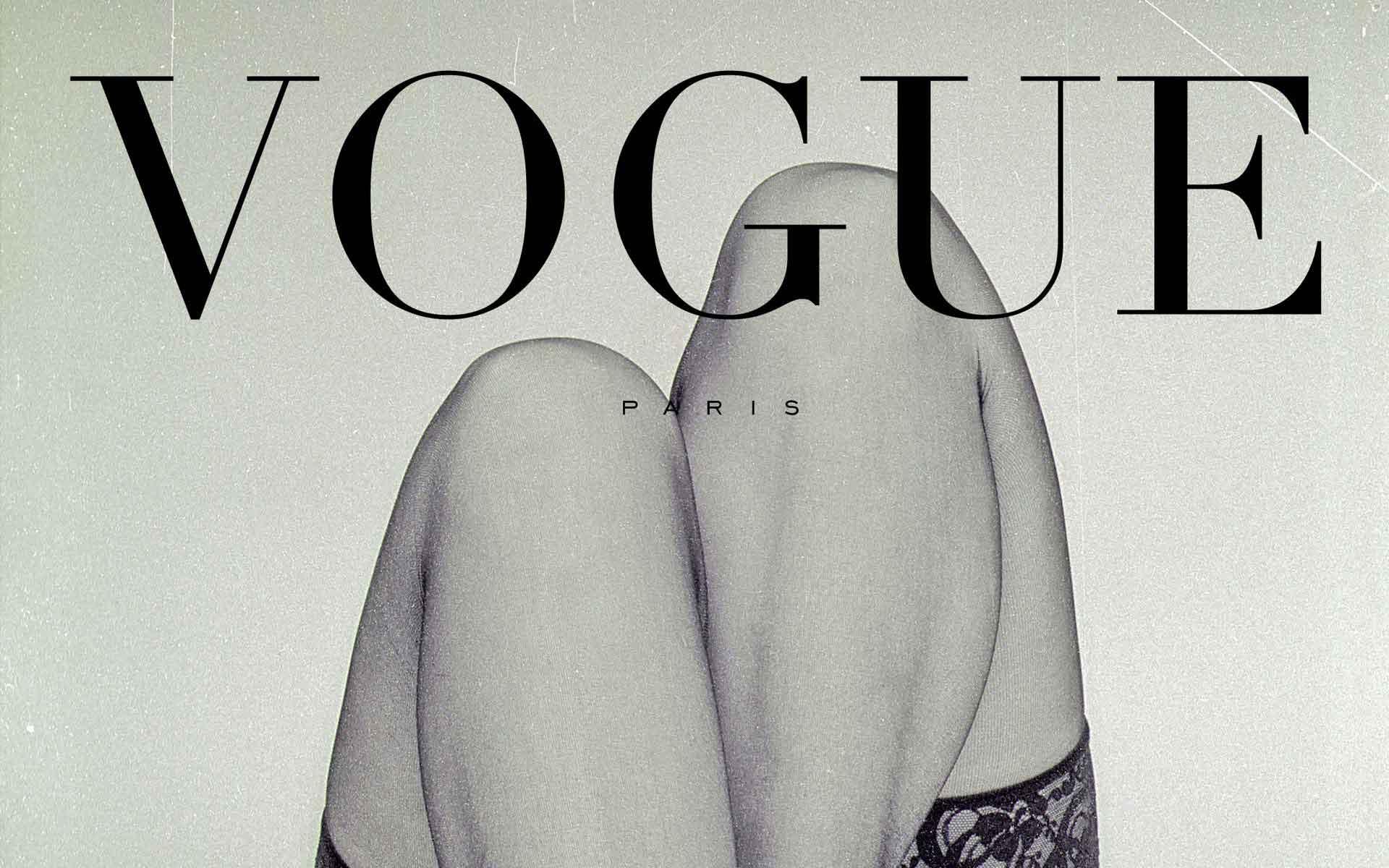 Fotografie und Design für die Vogue, Paris. Poster im Vintage Stil. Design und Fotograf: Wolfgang Beinert, Berlin.